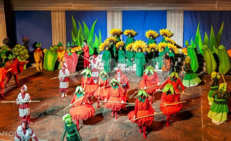 La sfilata del Rione Portella al Palio de San Michele 2018 (trama e foto)