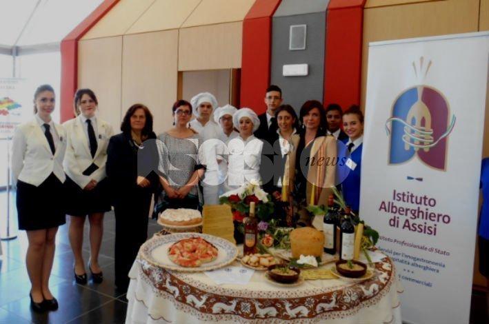 Istituto alberghiero di Assisi a convegno eccellenze, plauso di Travicelli