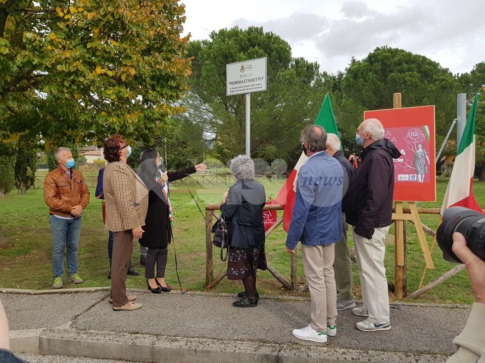 Parco Norma Cossetto, ad Assisi è realtà: ci sarà anche un cippo tributo (foto)