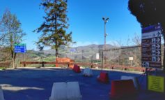 Ponte dei Galli, lavori quasi terminati: pronte la strada e le protezioni (foto)