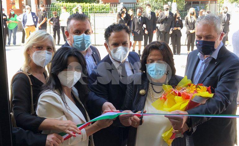Istituto Alberghiero di Assisi, inaugurati i nuovi spazi a Santa Maria (foto)