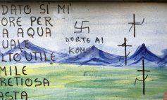 Svastiche sulle edicole votive e insulti a S. Francesco: succede a Spello (foto)