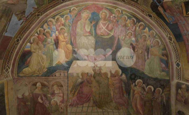 Confraternita delle Stimmate, restaurati gli affreschi con le storie della Misericordia (foto+video)