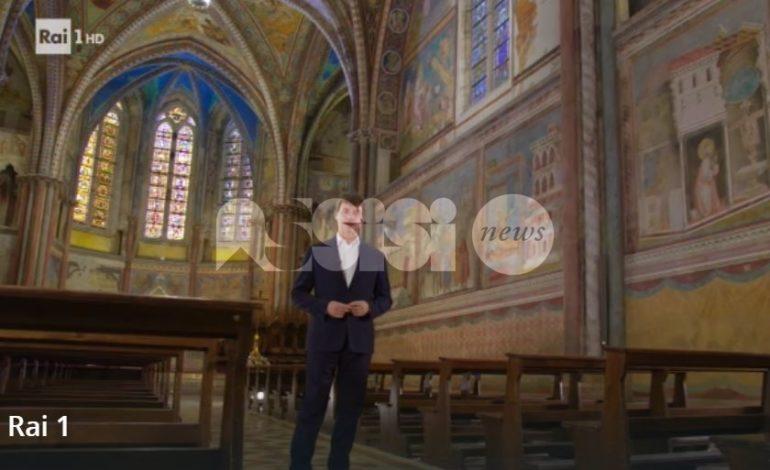 La meraviglia di Assisi in tv: Alberto Angela racconta Basilica e domus (foto+video)