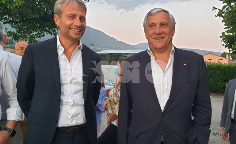 Forza Italia Progetto Assisi, anche Antonio Tajani alla presentazione della nuova lista (foto)