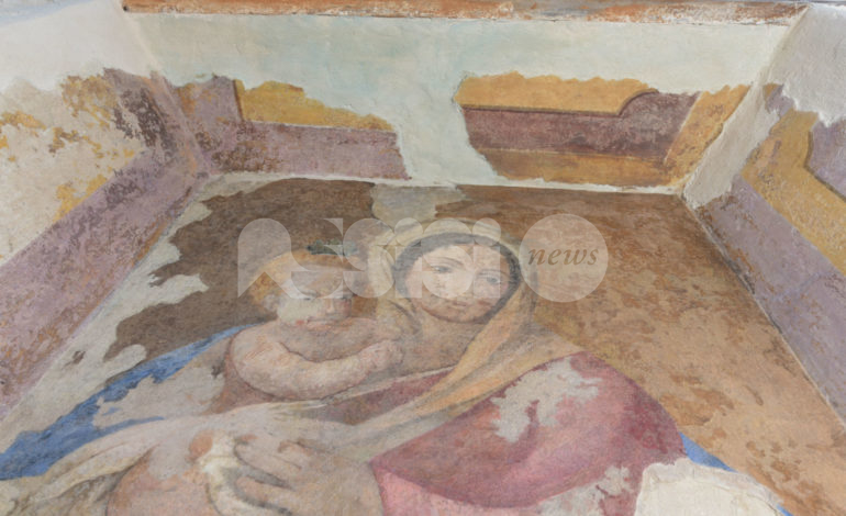 Edicola votiva di vicolo Frondini, domenica l'inaugurazione post restauro