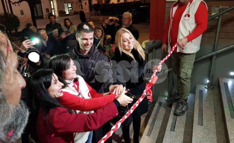 Nuova sede del Rione Ponte Rosso, grande festa per l'inaugurazione (foto)