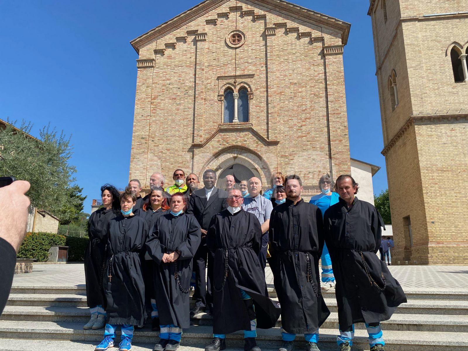 Misericordia di Assisi in festa per i diciotto anni di servizio (foto)