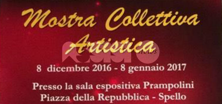 Ancora visitabile la mostra collettiva artistica La natività a Spello