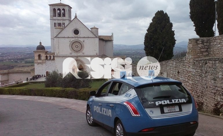 Ubriaco inveiva nelle vicinanze di un convento: foglio di via da Assisi