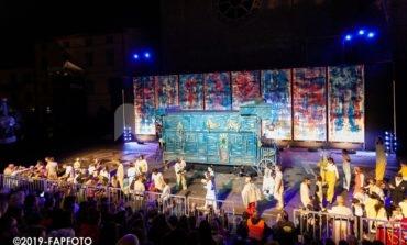 La sfilata del Rione Sant'Angelo al Palio de San Michele 2019 (trama e foto)