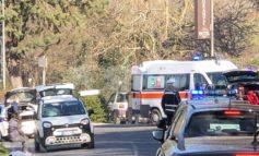 Incidente a Ponte San Vittorino, una donna in ospedale (foto)