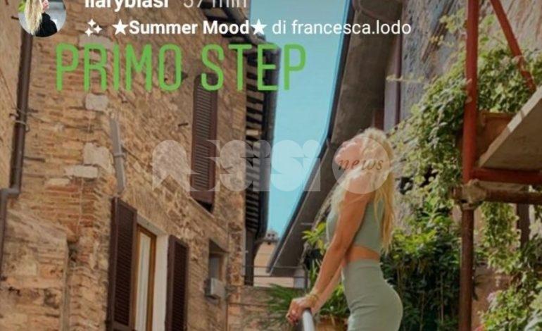 Francesco Totti e Ilary Blasi in Umbria: vacanza a Spello per la coppia