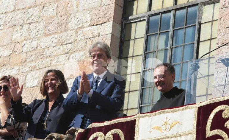 Gentiloni ad Assisi a festa S. Francesco