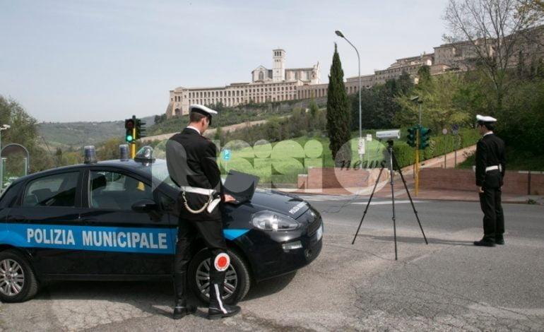 Polizia Municipale di Assisi, bilancio 2016: elevate 10.000 multe