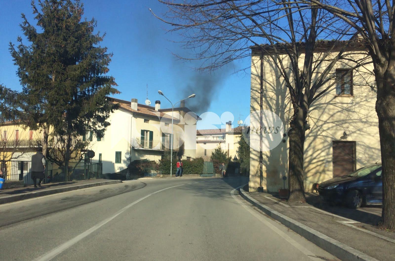 Incendio caldaia a Passaggio di Bettona: tanta paura, nessun ferito