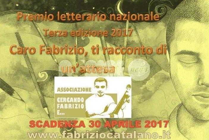 Torna il premio letterario dedicato a Fabrizio Catalano