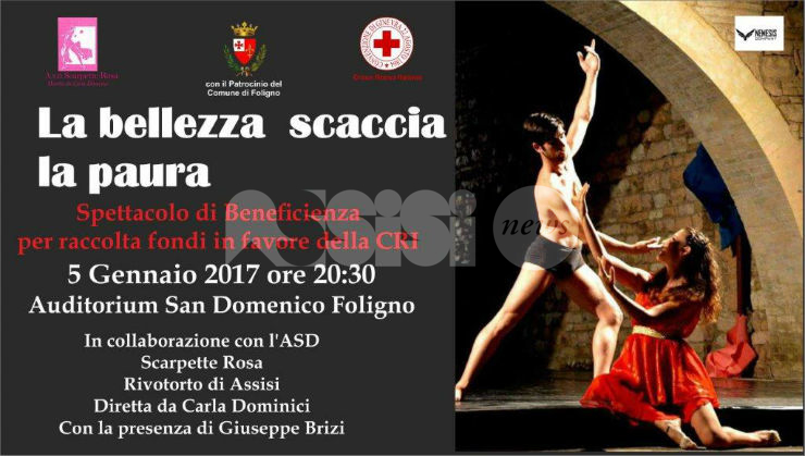 La bellezza scaccia la paura, evento di beneficenza a Foligno