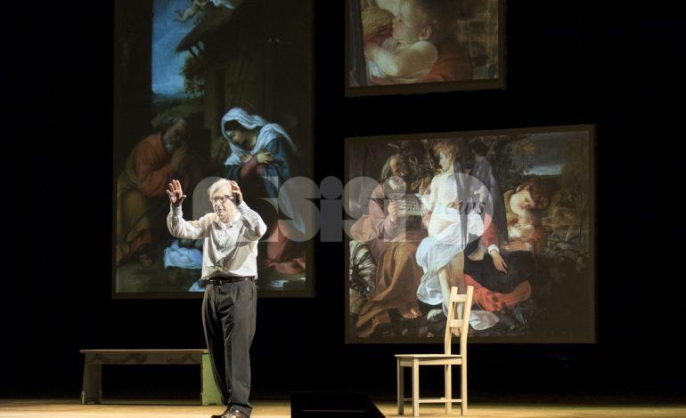 Vittorio Sgarbi al Lyrick di Assisi con lo spettacolo su Caravaggio