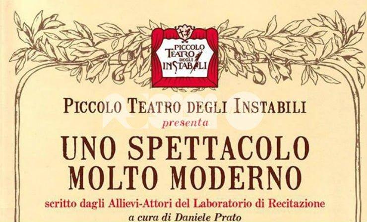 Uno spettacolo molto moderno agli Instabili di Assisi il 25 gennaio