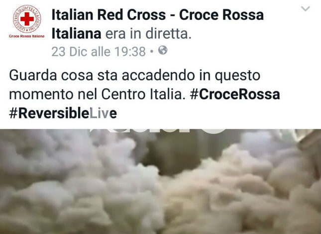 Video terremoto '97, Comune di Assisi querela la Croce Rossa