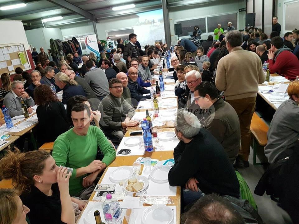 Movimento Sconforto Generale, successo per la cena annuale: 250 presenti