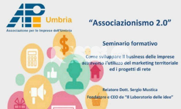 Oggi pomeriggio il seminario formativo Associazionismo 2.0 di Api Umbria