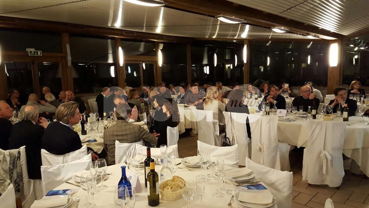 Grande partecipazione alla prima cena sociale di Api Umbria