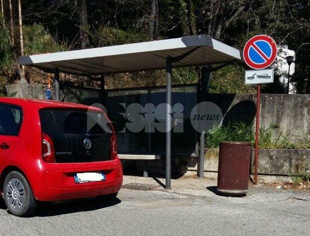 Autobus bloccato all'ospedale dalle auto in divieto di sosta: proteste di autisti e cittadini