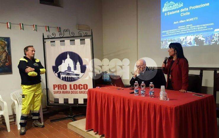 Successo per l'avvio del corso base per volontari di Protezione Civile comunale di Assisi