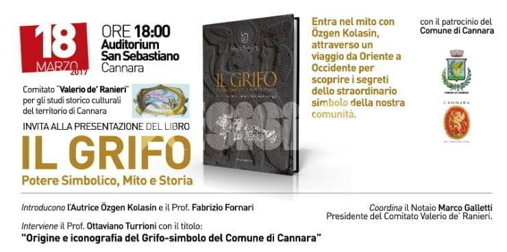 Il Grifo - Potere simbolico, mito e storia presentato sabato 18 marzo 2017 a Cannara