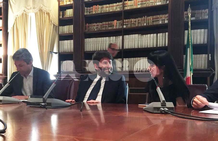 Il sindaco di Assisi incontra il Ministro Franceschini per il rilancio del turismo