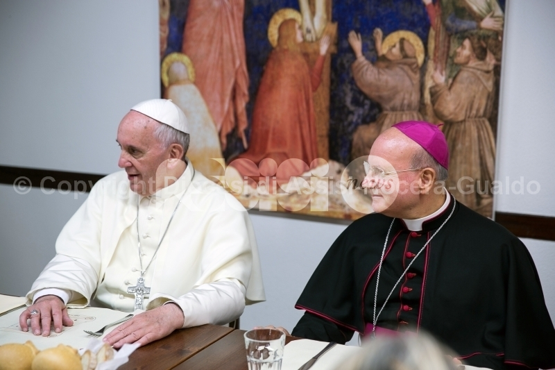 Santuario della Spogliazione, Papa Francesco scrive al vescovo di Assisi