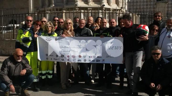 L'Umbria si rimette in moto, Perugia consegna a Norcia oltre 4.000 euro