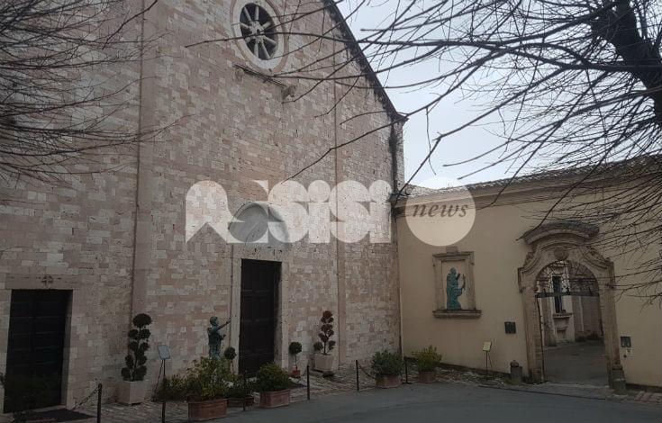 Annullo filatelico speciale per il Santuario della Spogliazione ad Assisi
