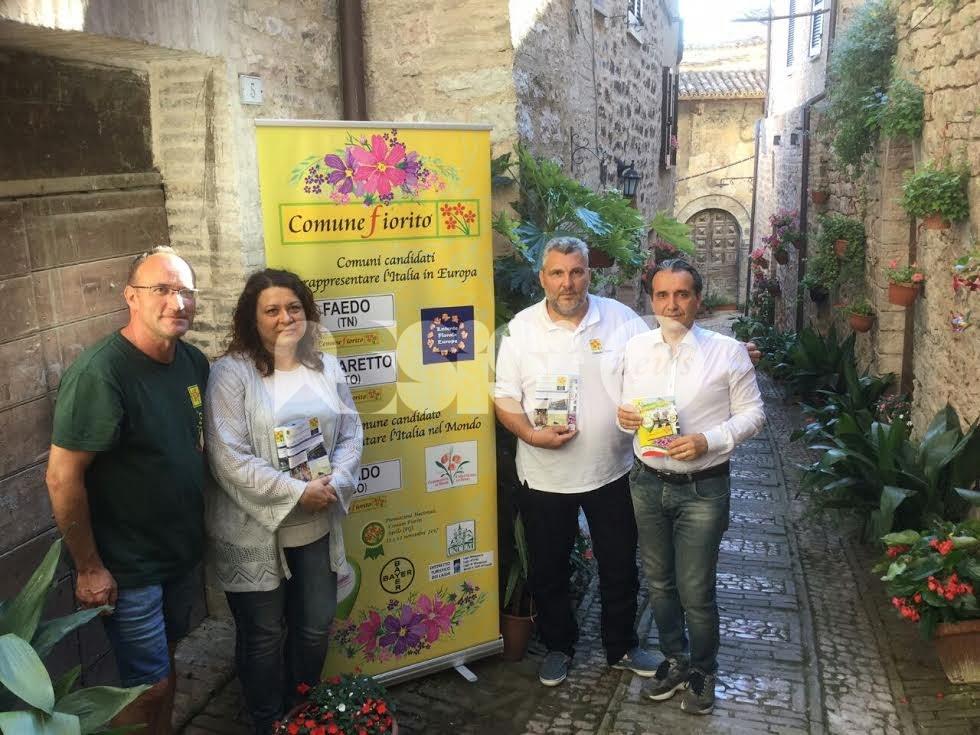 Spello accoglie la premiazione del Concorso nazionale Comuni Fioriti 2017