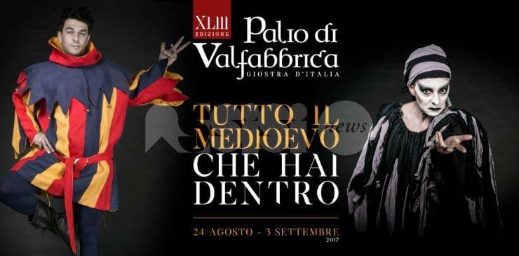 Palio di Valfabbrica 2017, il programma della settimana finale