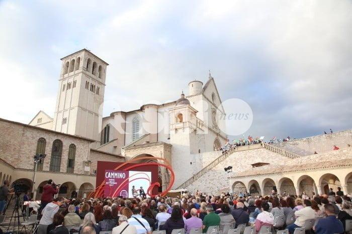 Il Cortile di Francesco al Metastasio con Crepet, Mancuso, Nencini e Vattimo