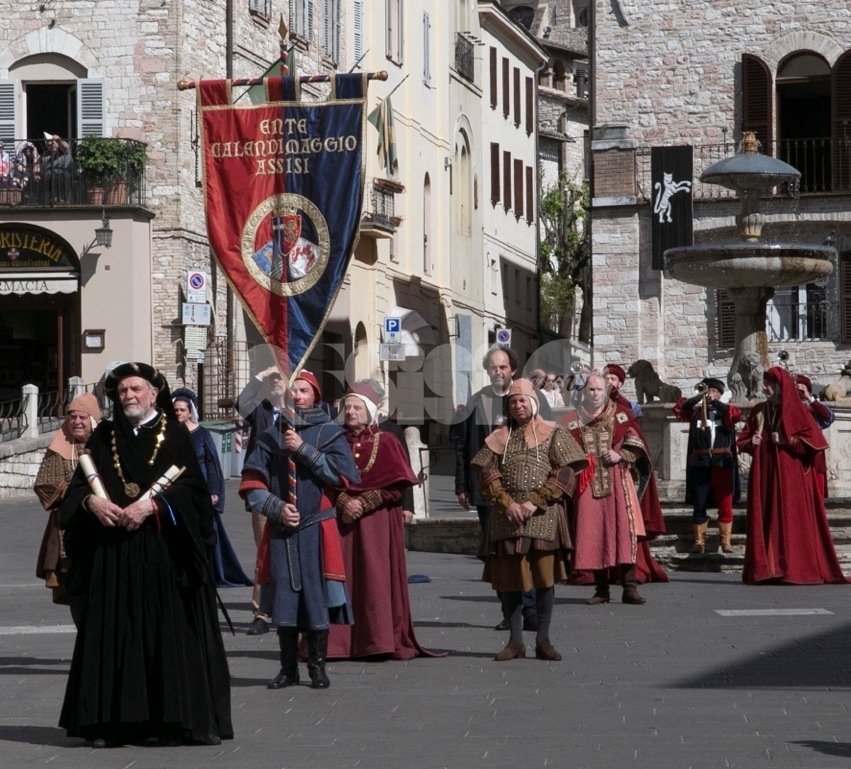 La storia del Calendimaggio conservata all'Archivio di Stato di Assisi