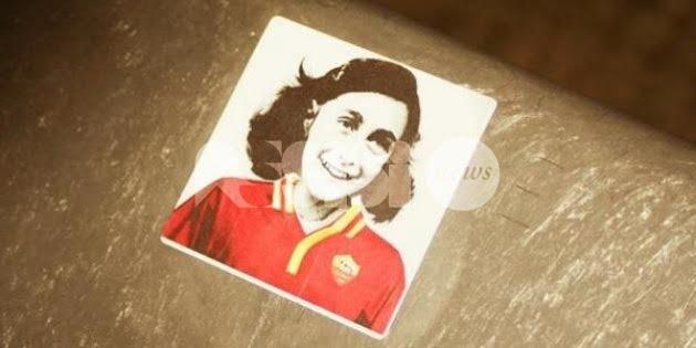 """Anna Frank con la maglia della Roma, Bassetti: """"Atto vergognoso"""""""