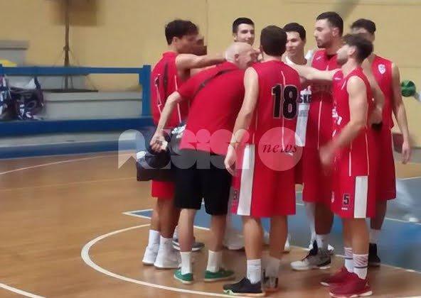 Il Basket Assisi sfiora l'impresa a Gubbio: perde 65-59