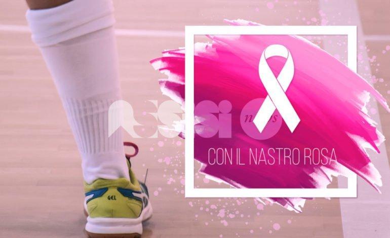 Angelana C5 femminile e Punto Rosa insieme per la ricerca contro il cancro