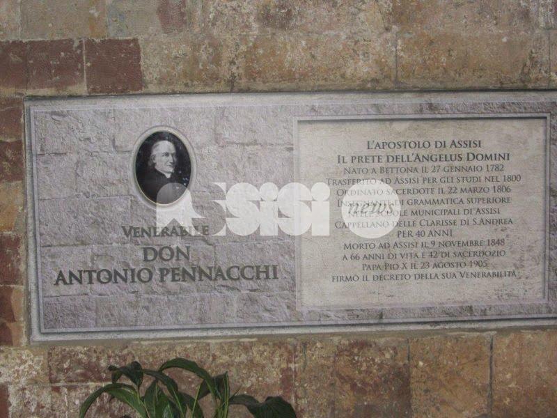 """La Diocesi di Assisi ricorda don Antonio Pennacchi, il """"sacerdote esemplare"""""""
