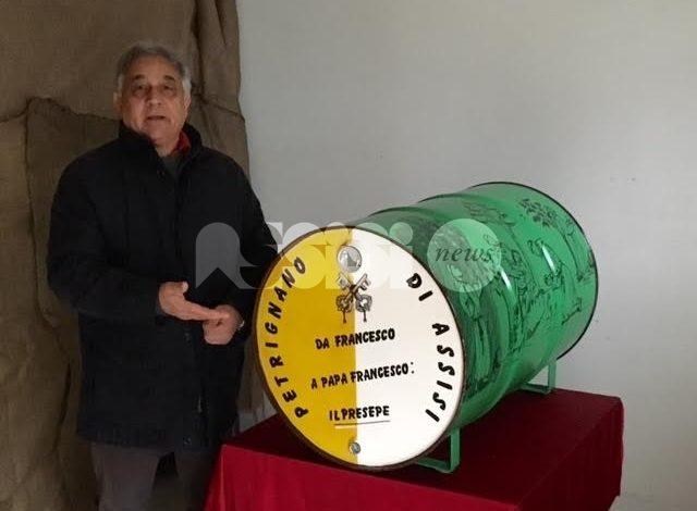 Il presepe galleggiante di Ennio Ridolfi in Libano per una mostra