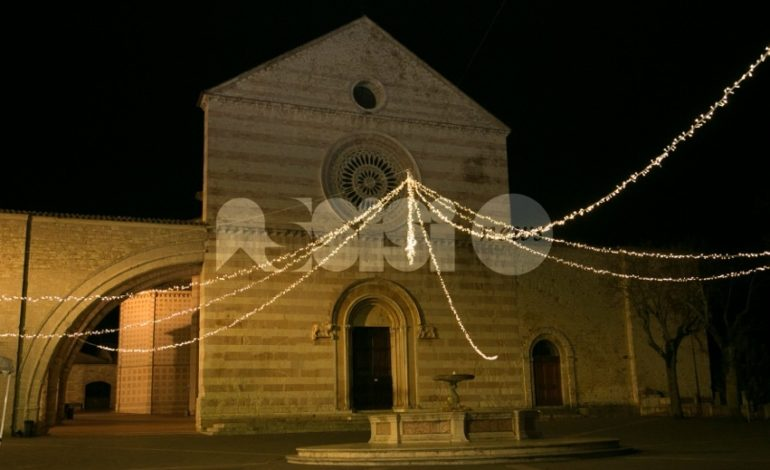 Natale ad Assisi, l'8 dicembre 2017 la città si accende per le feste