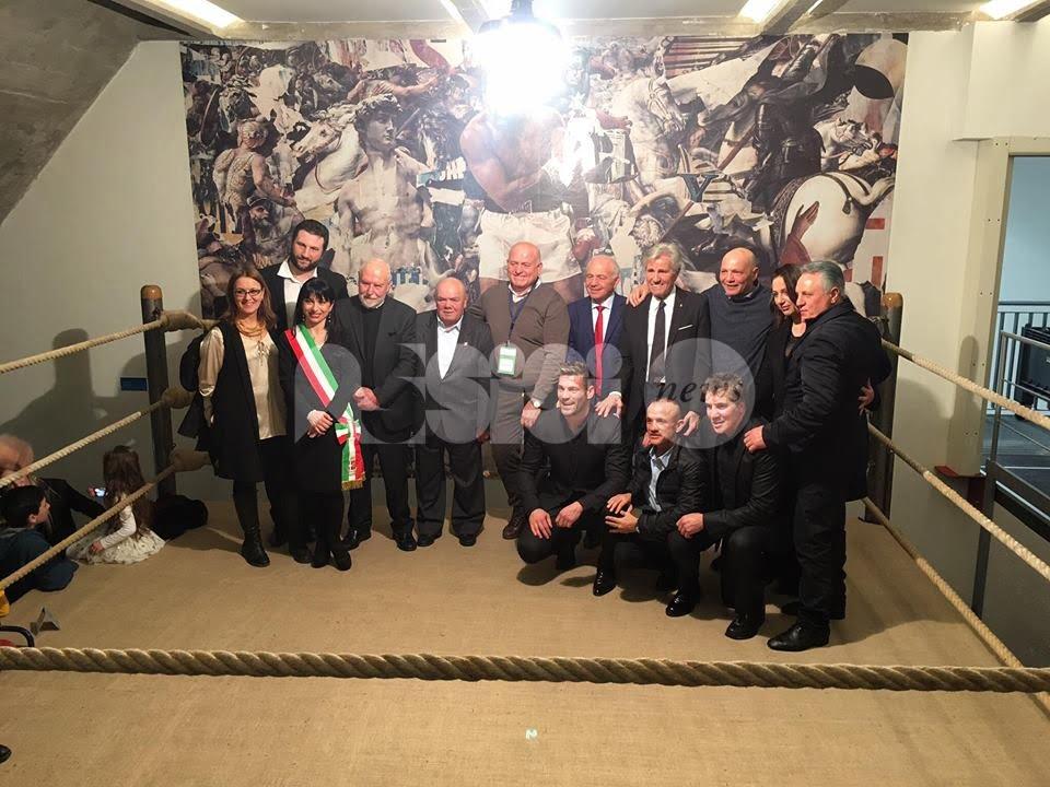 """Franco Falcinelli a Leggio: """"Museo del pugilato opera di grande valore"""""""