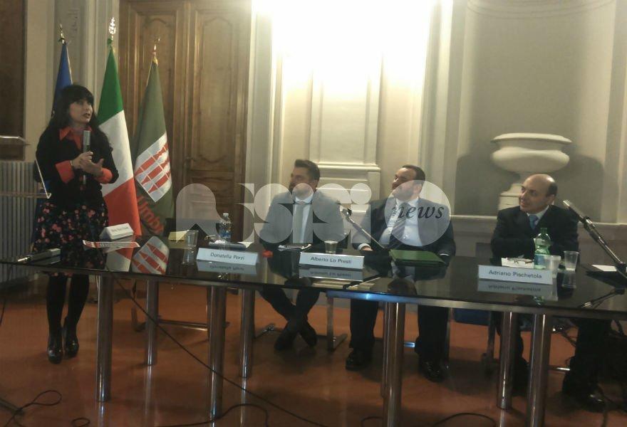 Perugia, il sindaco Proietti e il consigliere Migliosi al convegno su Domenico Mangano