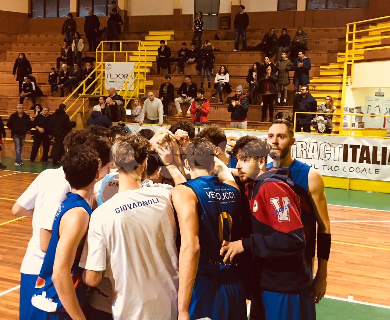 L'Adrilog Virtus Assisi vince in trasferta a Rieti 62-79