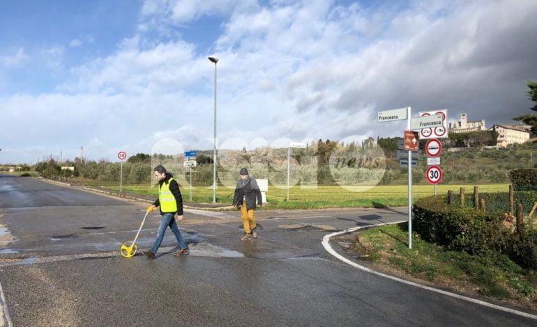 Piano strade Assisi, lavori al via a febbraio: dureranno circa un mese