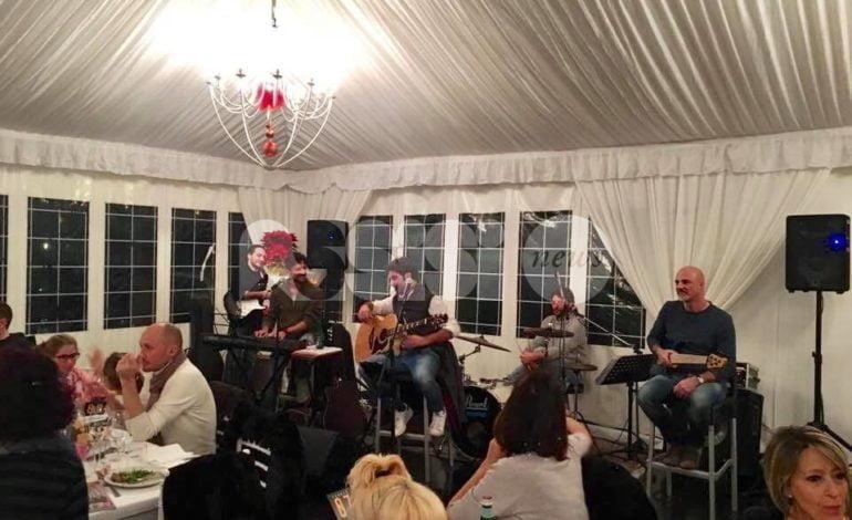 Piatto Sant'Antonio 2018, successo in taverna con la No Name Band